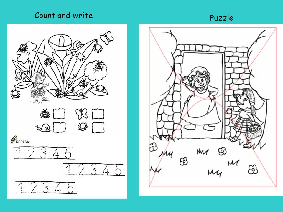 Count and write Puzzle