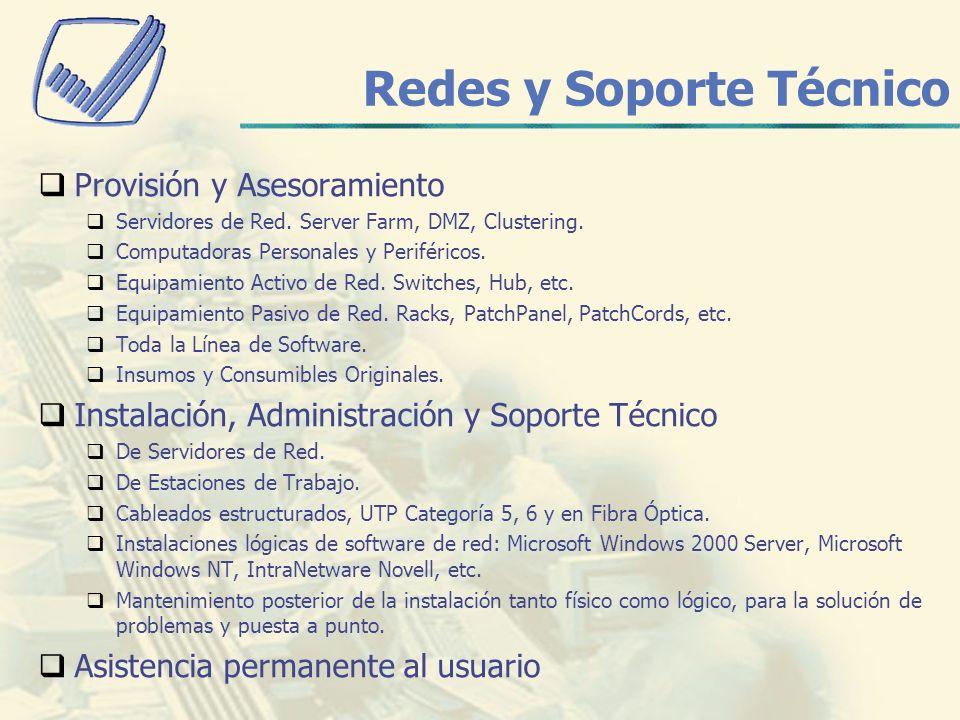 Redes y Soporte Técnico
