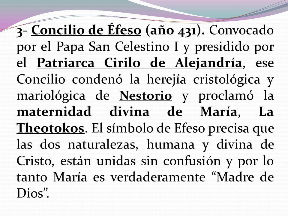 3- Concilio de Éfeso (año 431)