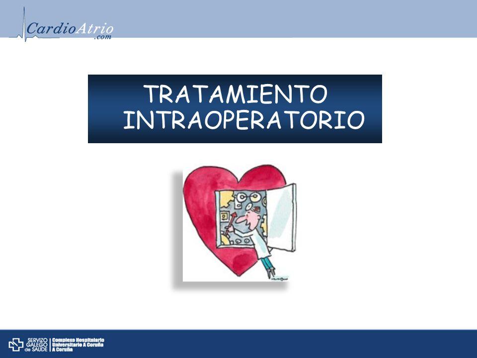 TRATAMIENTO INTRAOPERATORIO