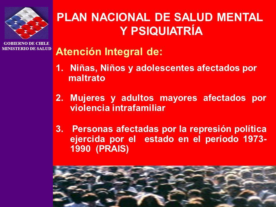 PLAN NACIONAL DE SALUD MENTAL