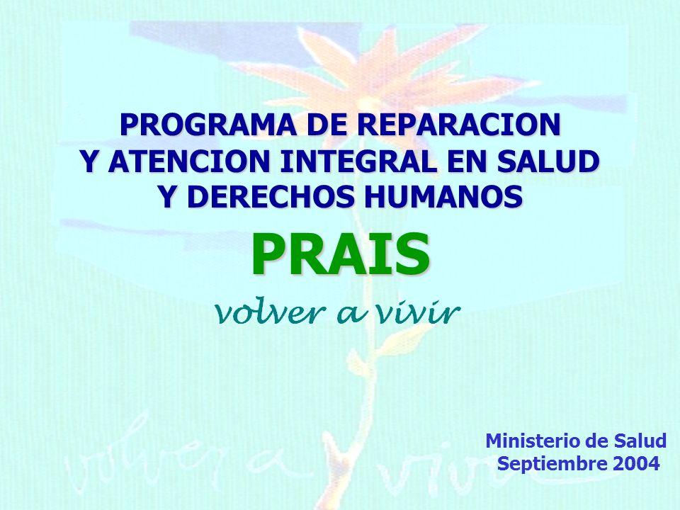 PROGRAMA DE REPARACION Y ATENCION INTEGRAL EN SALUD