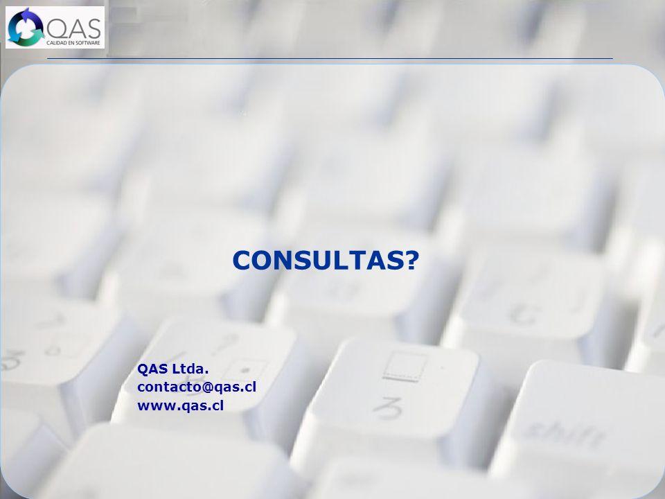 CONSULTAS QAS Ltda. contacto@qas.cl www.qas.cl