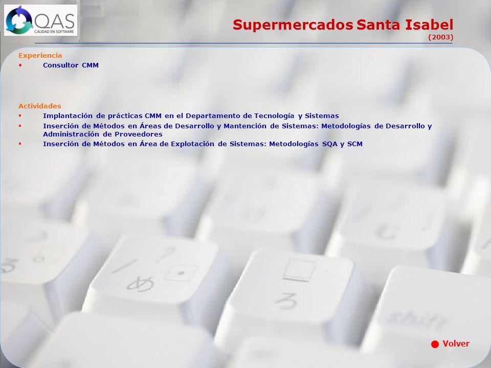 Supermercados Santa Isabel (2003)