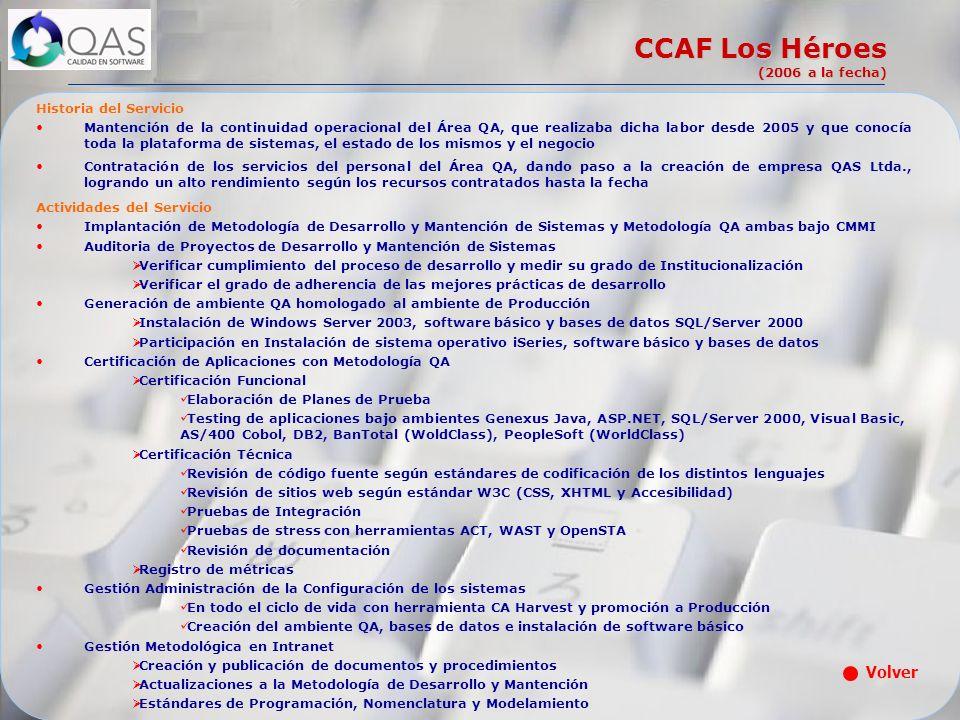 CCAF Los Héroes (2006 a la fecha)