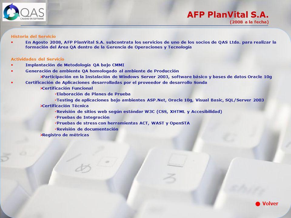 AFP PlanVital S.A. (2008 a la fecha)