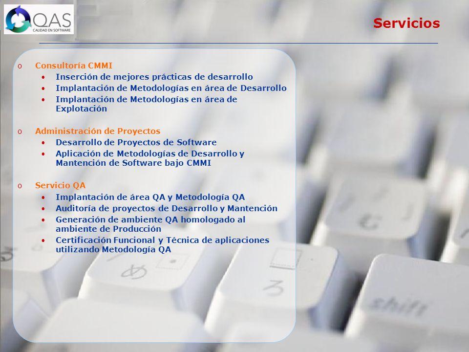 Servicios Consultoría CMMI