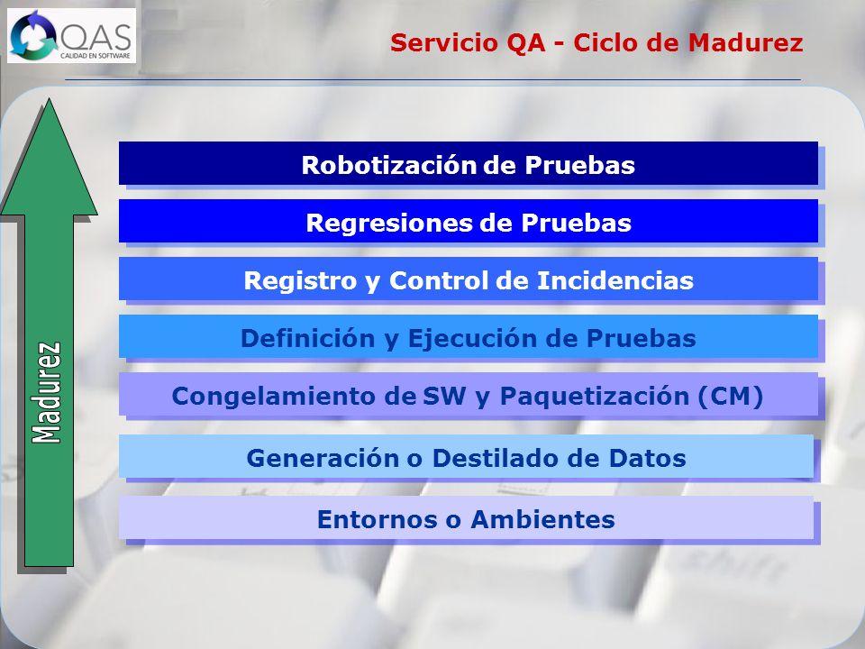 Servicio QA - Ciclo de Madurez