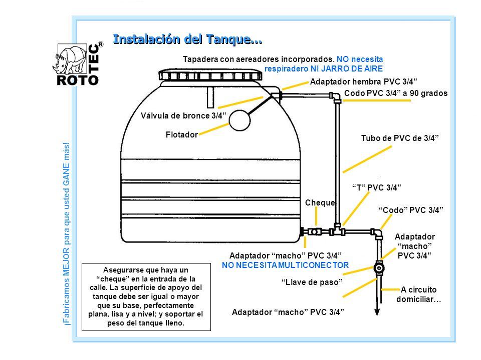 Instalación del Tanque…