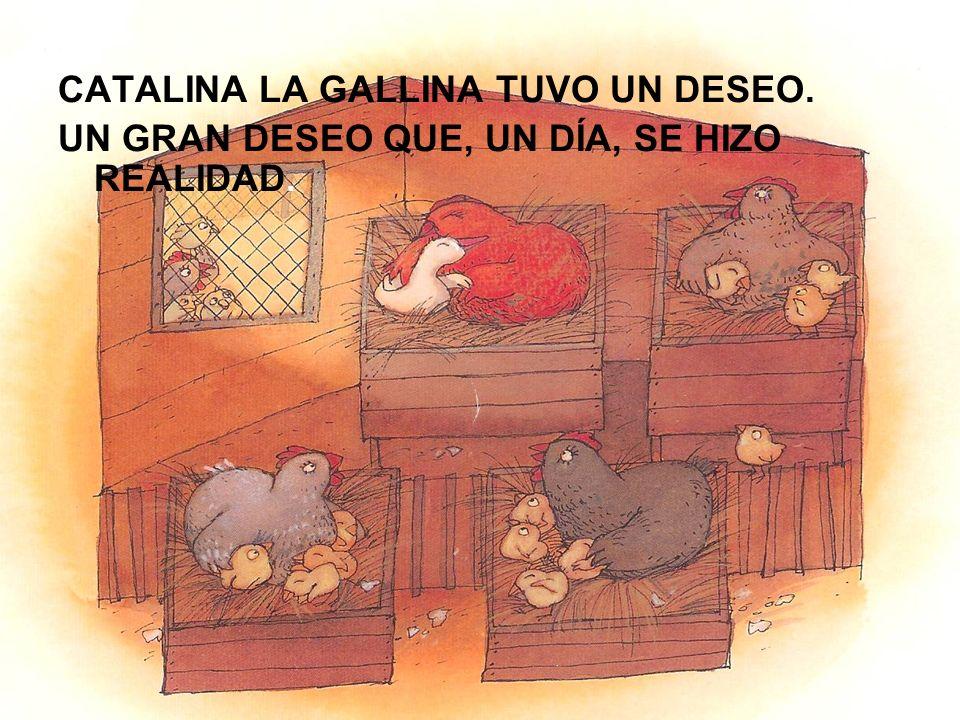 CATALINA LA GALLINA TUVO UN DESEO.