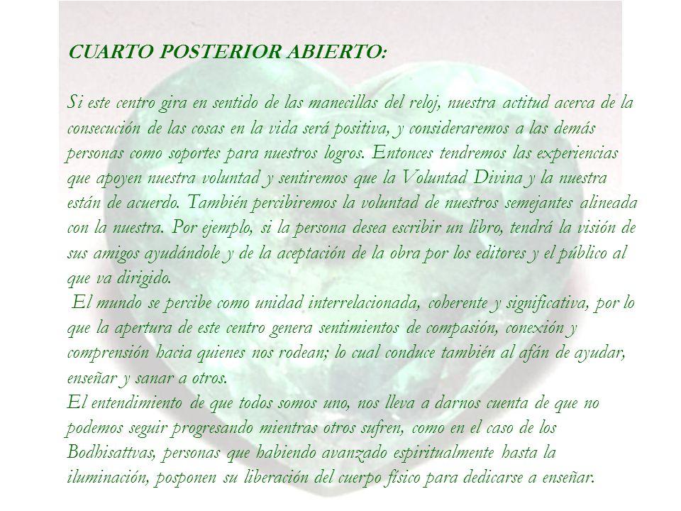 CUARTO POSTERIOR ABIERTO: