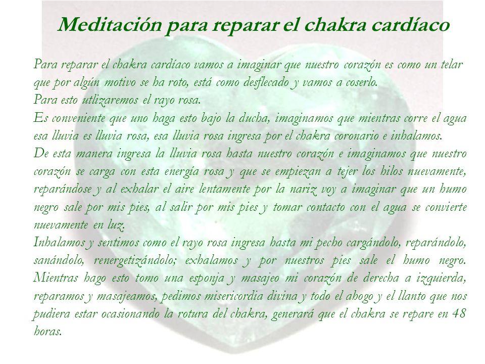 Meditación para reparar el chakra cardíaco