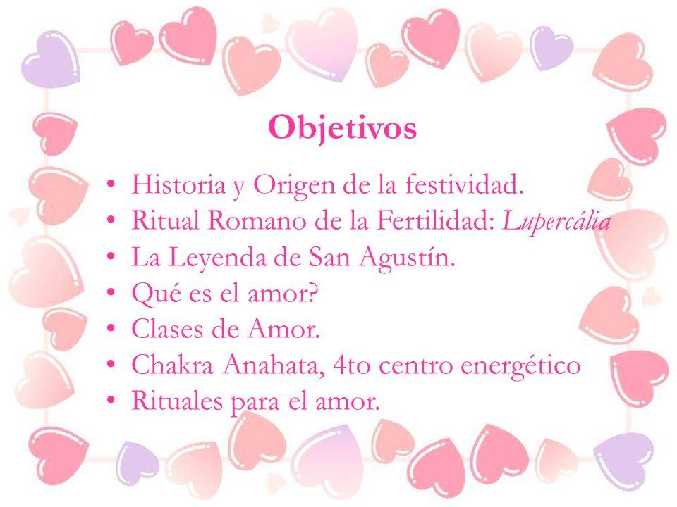 Objetivos Historia y Origen de la festividad.