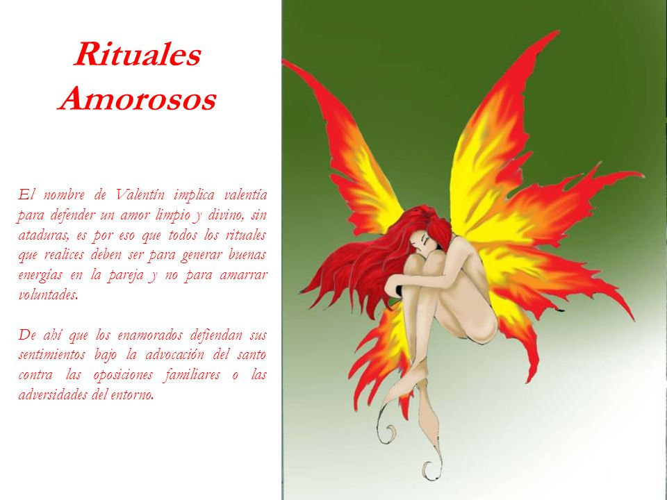Rituales Amorosos.