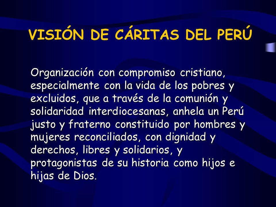 VISIÓN DE CÁRITAS DEL PERÚ