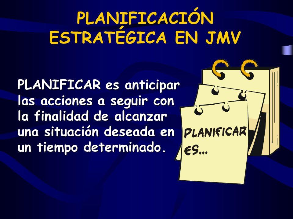 PLANIFICACIÓN ESTRATÉGICA EN JMV