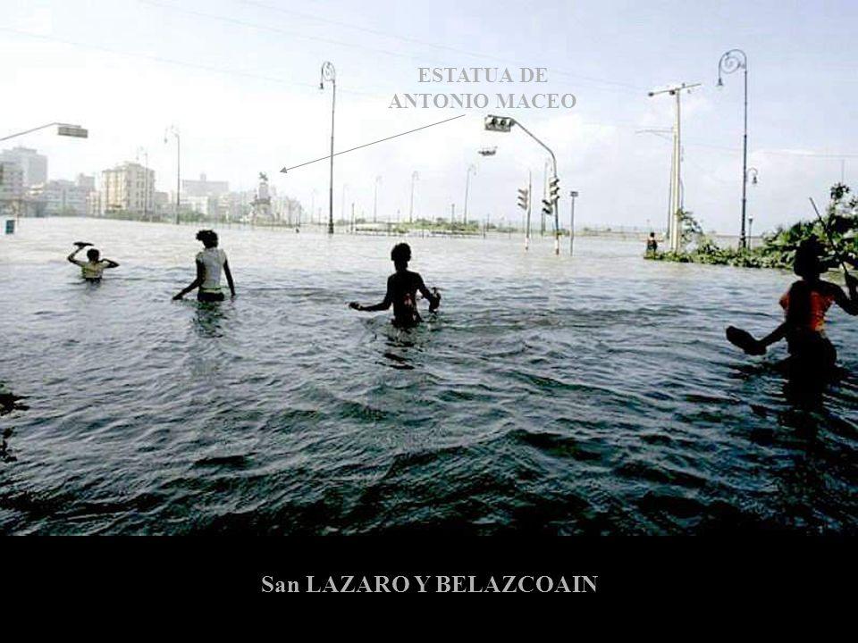 ESTATUA DE ANTONIO MACEO San LAZARO Y BELAZCOAIN