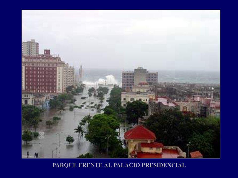 PARQUE FRENTE AL PALACIO PRESIDENCIAL