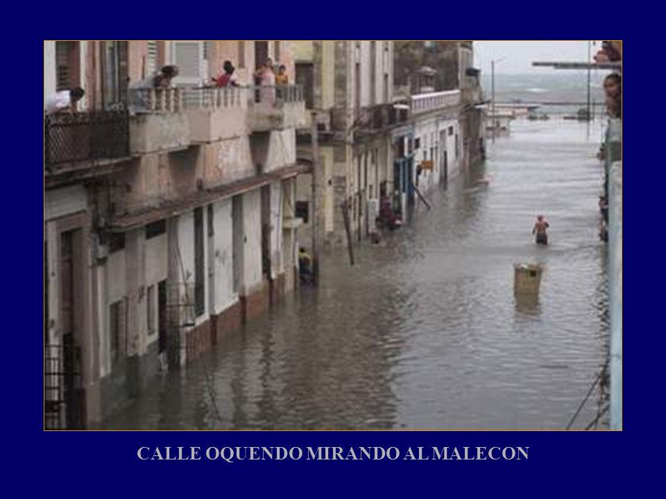 CALLE OQUENDO MIRANDO AL MALECON