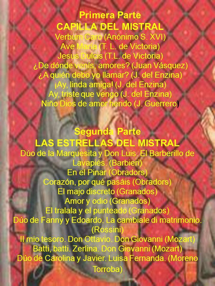 LAS ESTRELLAS DEL MISTRAL