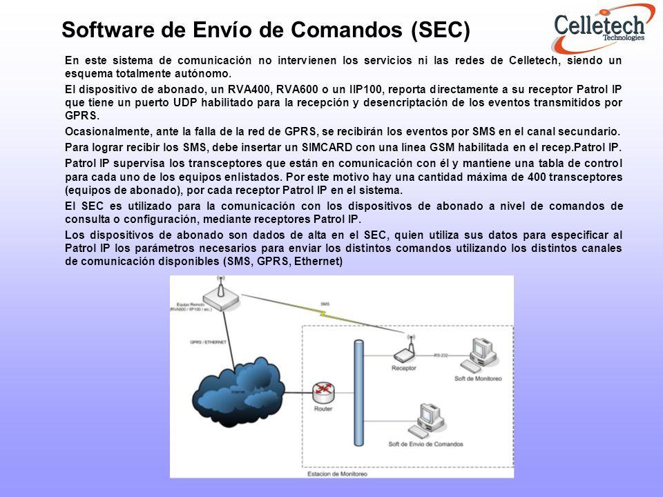 Software de Envío de Comandos (SEC)