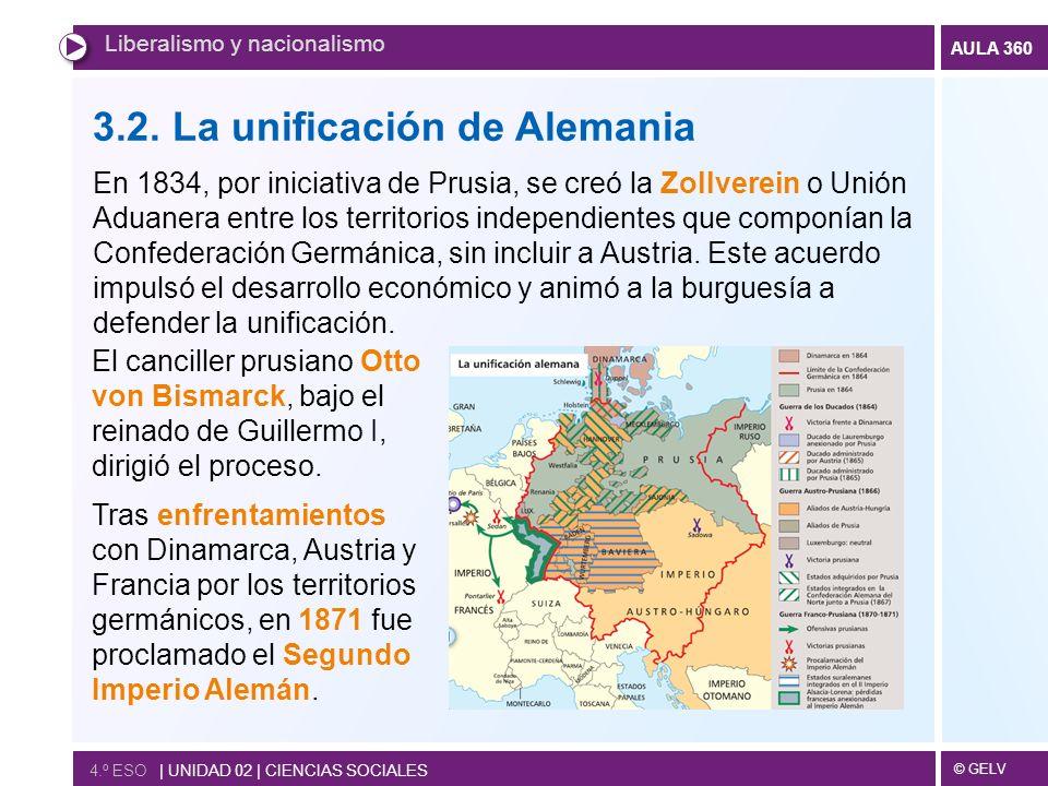 3.2. La unificación de Alemania