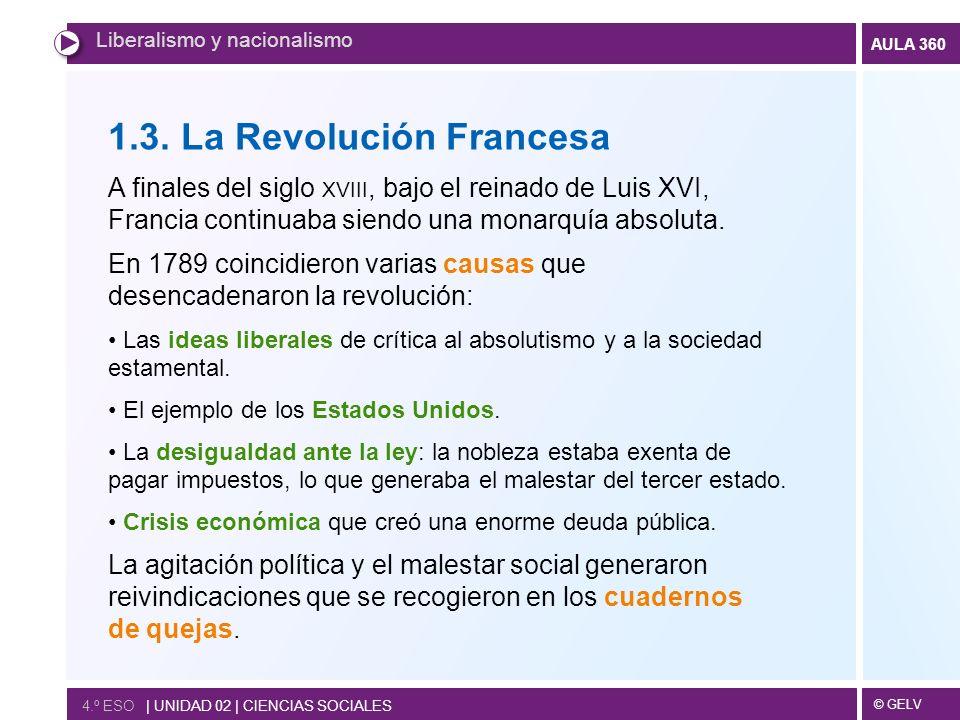1.3. La Revolución Francesa