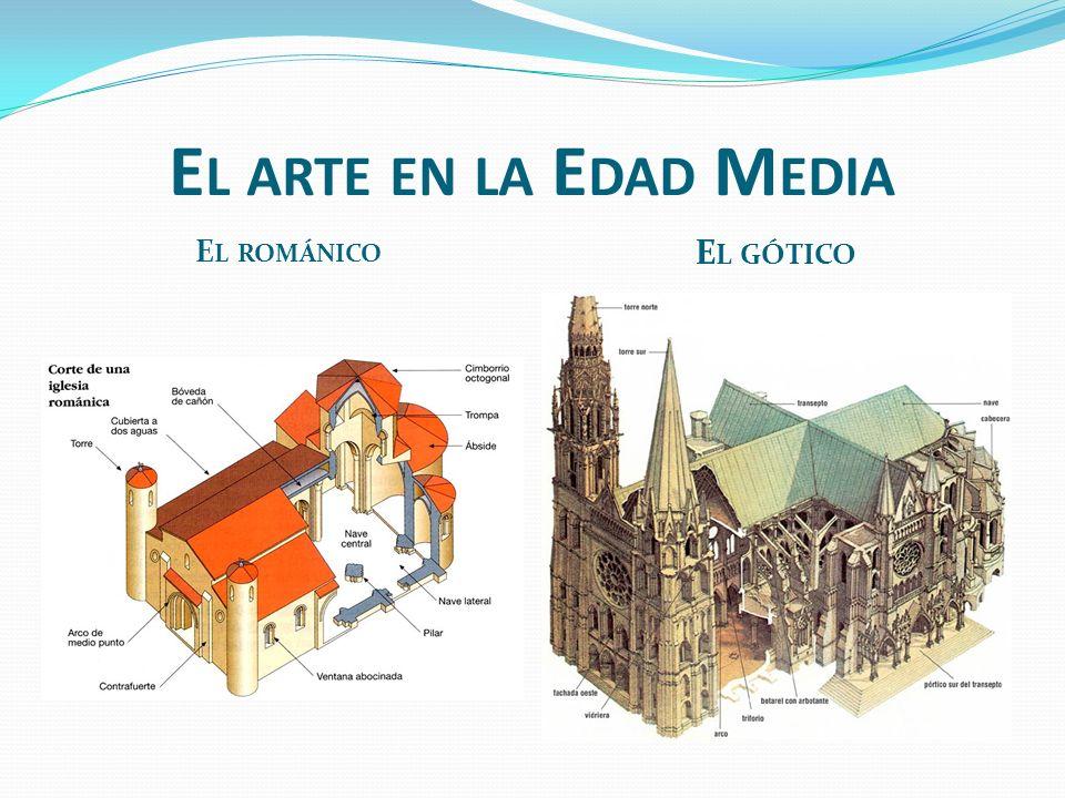 El arte en la Edad Media El románico El gótico