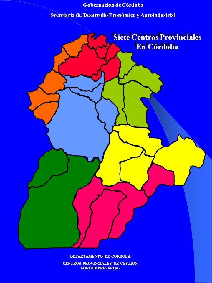 Siete Centros Provinciales En Córdoba