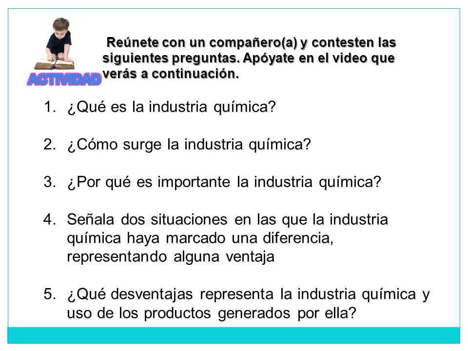 ¿Qué es la industria química ¿Cómo surge la industria química
