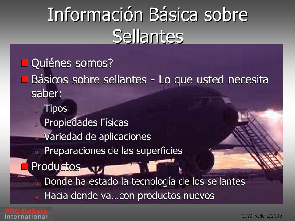 Información Básica sobre Sellantes