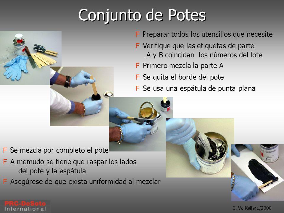 Conjunto de Potes Preparar todos los utensilios que necesite