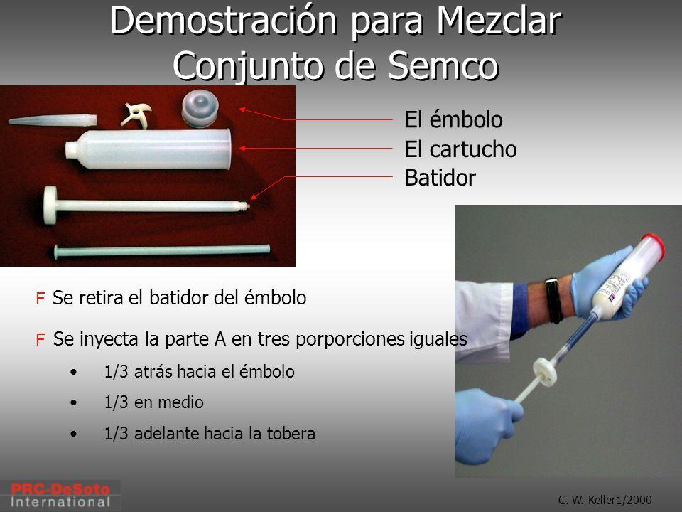 Demostración para Mezclar Conjunto de Semco