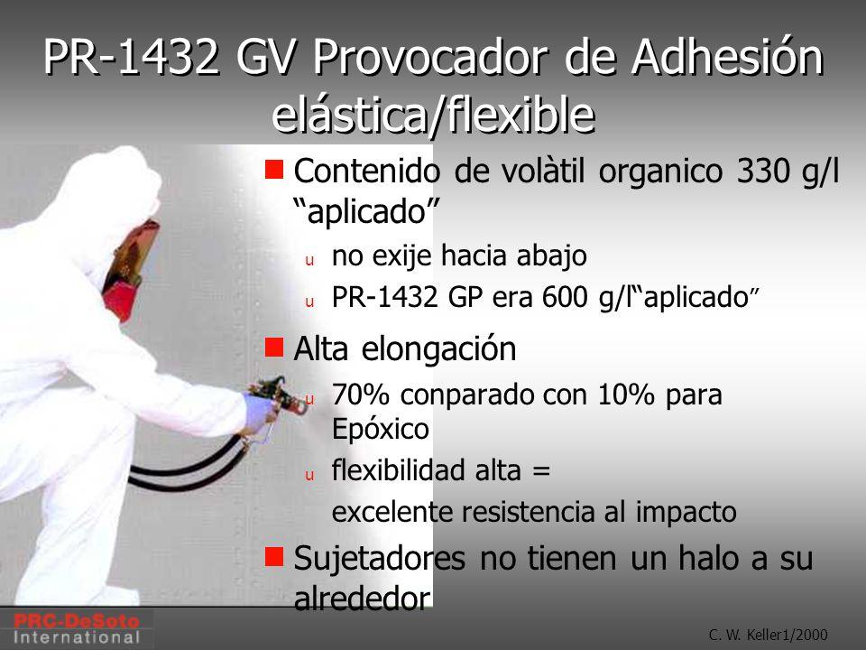 PR-1432 GV Provocador de Adhesión elástica/flexible