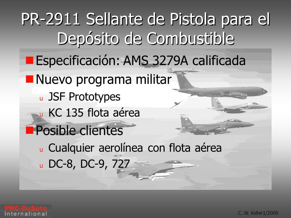PR-2911 Sellante de Pistola para el Depósito de Combustible