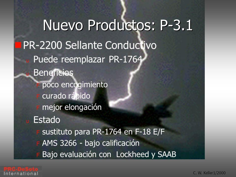 Nuevo Productos: P-3.1 PR-2200 Sellante Conductivo