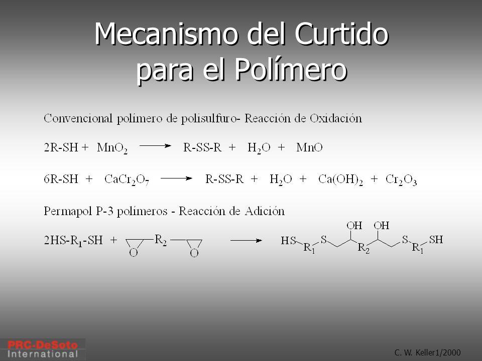 Mecanismo del Curtido para el Polímero