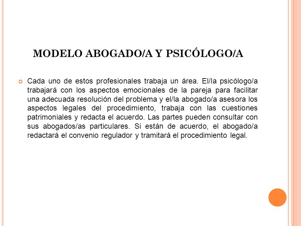 MODELO ABOGADO/A Y PSICÓLOGO/A