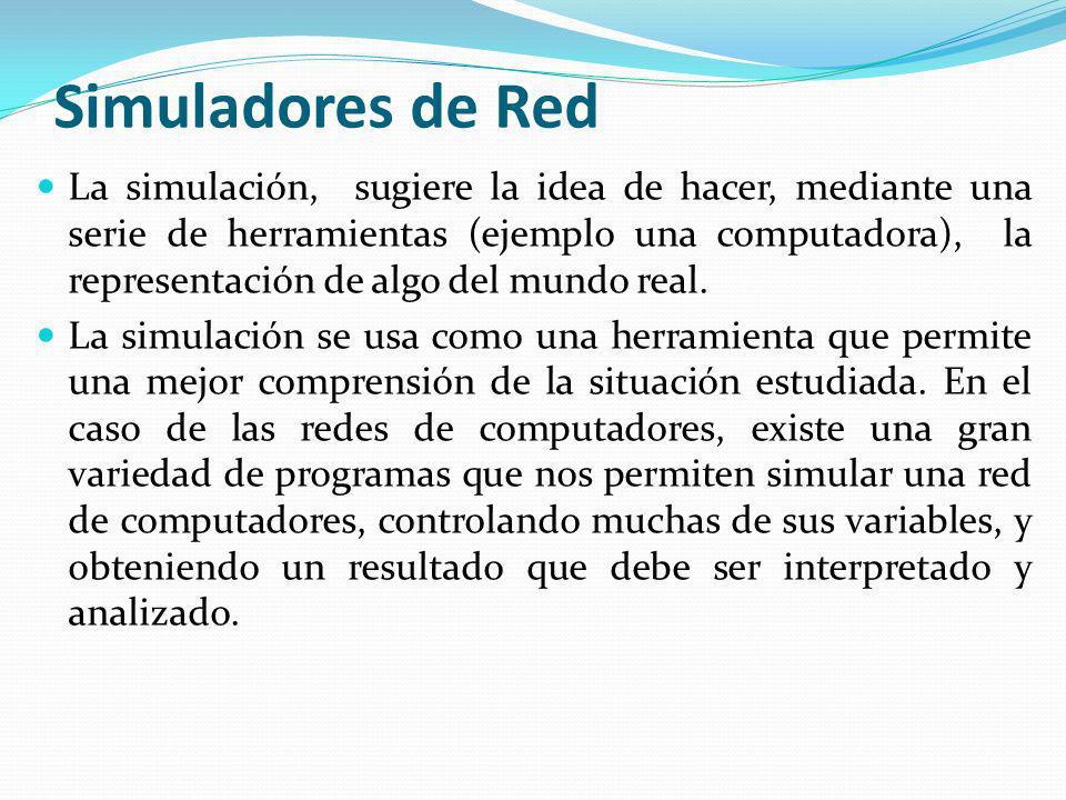 Simuladores de Red