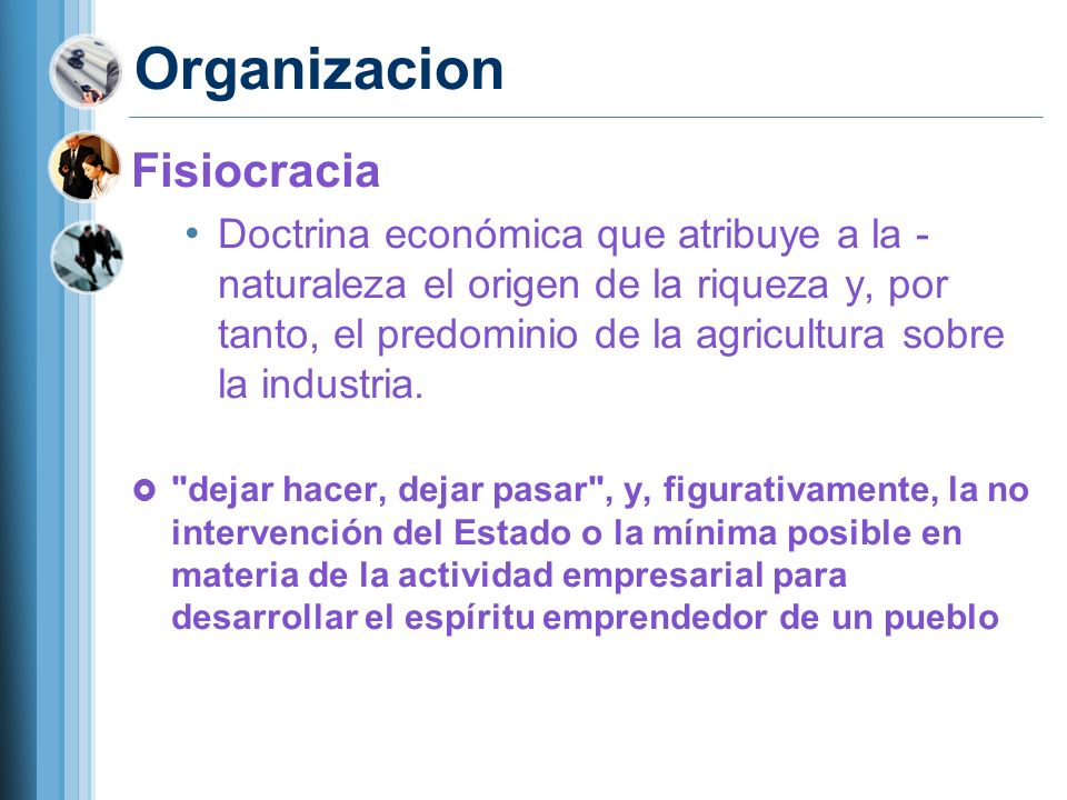 Organizacion Fisiocracia