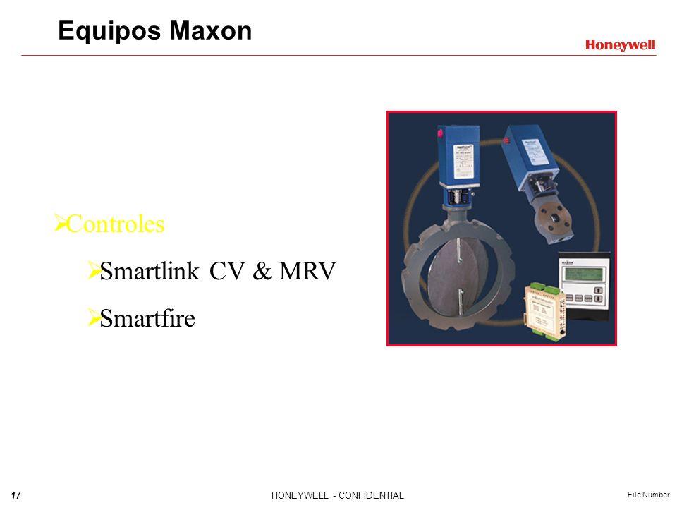 Equipos Maxon Controles Smartlink CV & MRV Smartfire