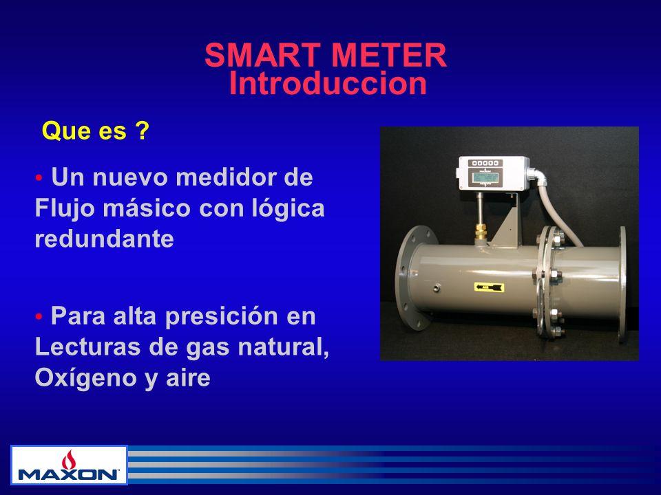 SMART METER Introduccion Que es • Un nuevo medidor de