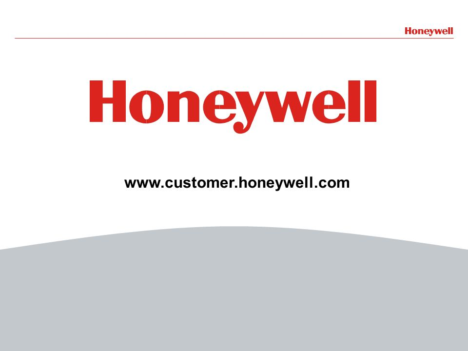 www.customer.honeywell.com