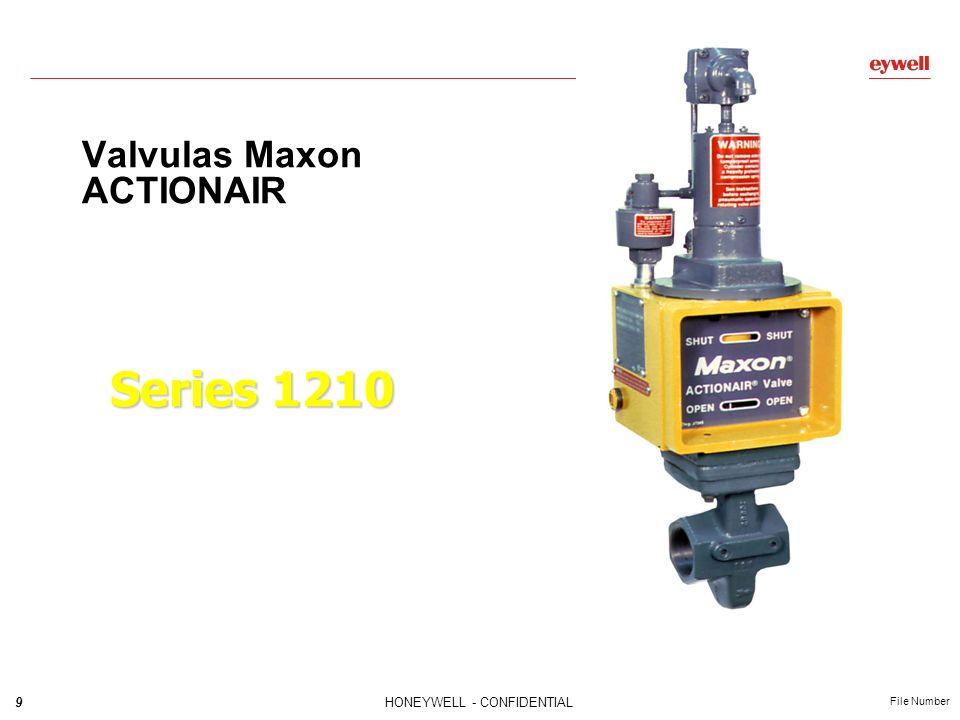 Valvulas Maxon ACTIONAIR