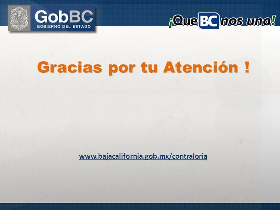 Gracias por tu Atención !