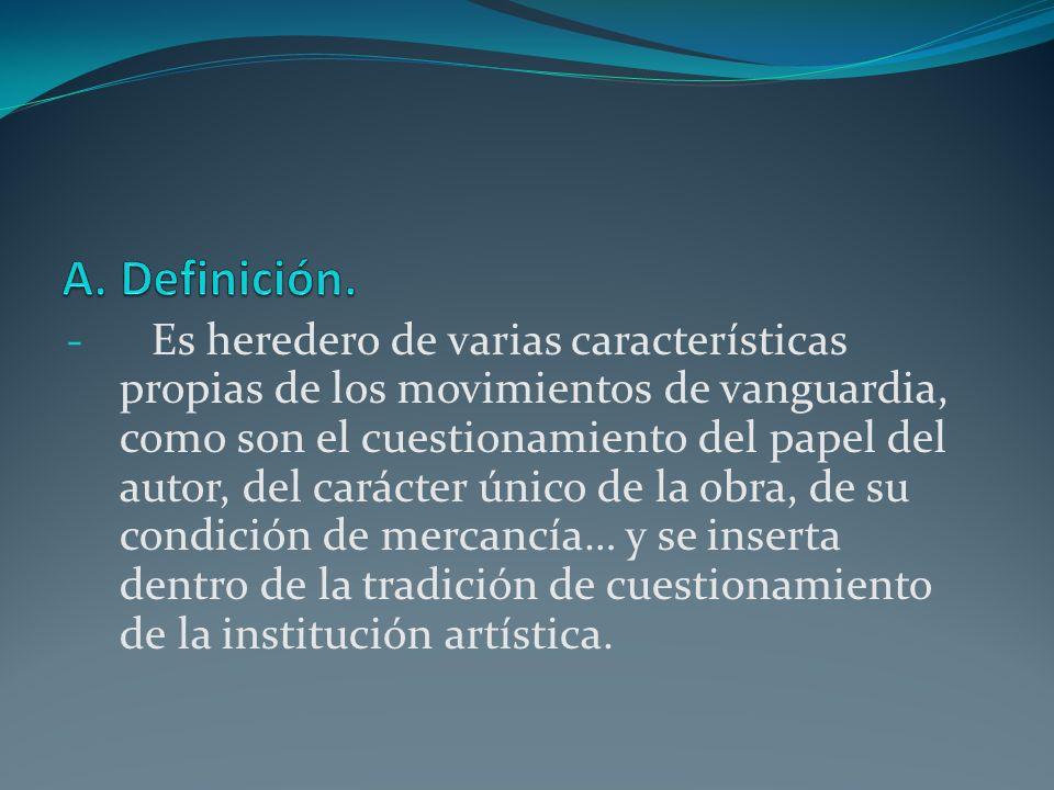 A. Definición.