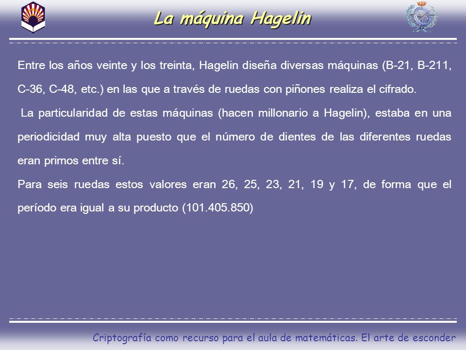 La máquina Hagelin