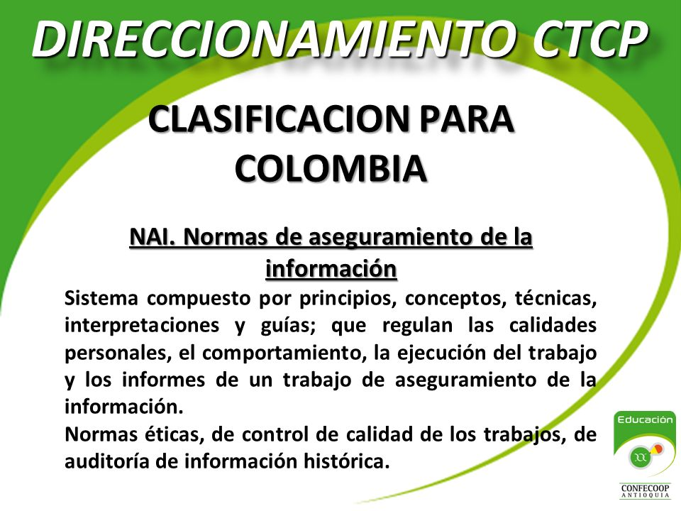 DIRECCIONAMIENTO CTCP