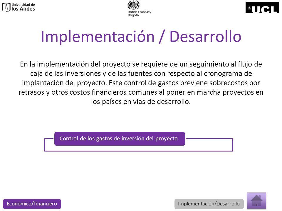 Implementación / Desarrollo