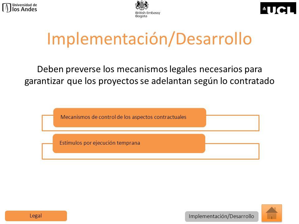 Implementación/Desarrollo